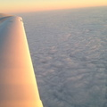 flying into the soup - looked like a icicle coming out