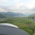 flight in the swiss alps from lszc (buochs)